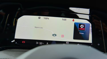 Volkswagen Golf GTI manual - virtual cockpit