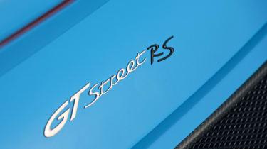 Techart Porsche 911 GTStreet RS badge