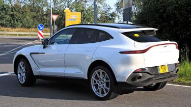 Aston-Martin DBX - hybrid spy pic