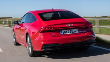 Audi A7 Sportback 55 TFSI e - rear