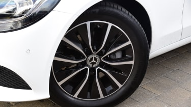 Mercedes C-Class alloy wheel