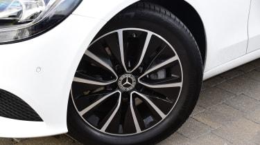 Mercedes C-Class alloy wheel