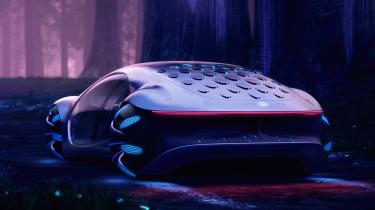 Mercedes Vision AVTR concept - rear static