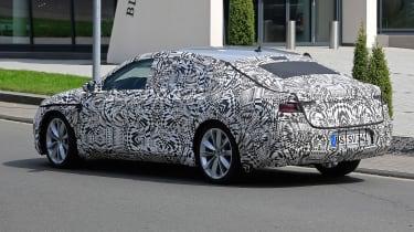 VW Passat CC spies rear side