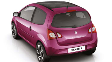 Pink Renault Twingo