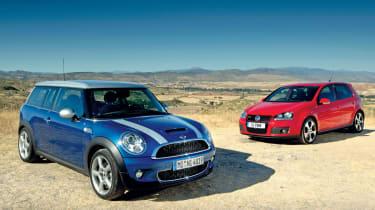 MINI Clubman vs VW Golf GTI