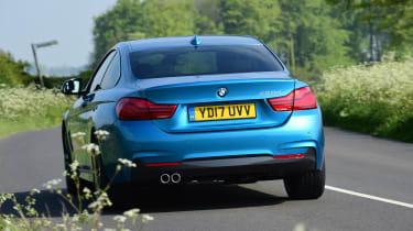 BMW 420d M Sport - rear action