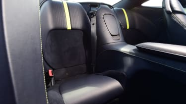 Aston Martin DB11 AMR - back seats