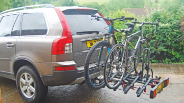 Exodus 4-Bike Towbar-Mounted Cycle Carrier