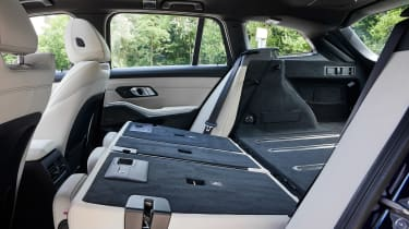 BMW 3 Series Touring - rear seats folded down