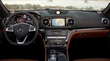 Mercedes SL400 - dash