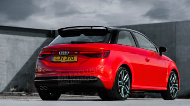 New Audi A1 rear exclusive render
