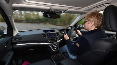 Honda CR-V long-termer - driving