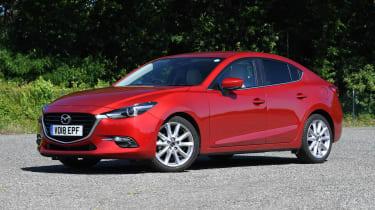 Mazda 3 Fastback - front