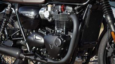 Triumph Bonneville T120 review - engine
