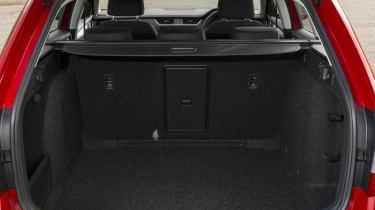 Skoda Octavia Estate 2017 facelift boot seats up