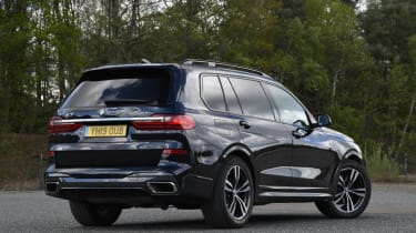 BMW X7 - rear static