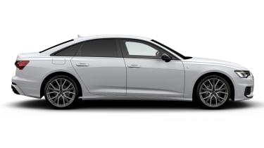 Audi A6 Black Edition - side