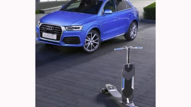 Audi Connected Mobility front longboard