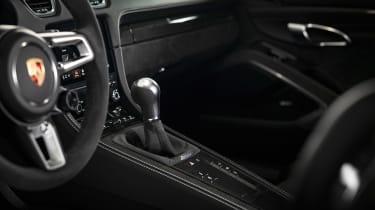 Porsche 718 Cayman GTS 4.0 - transmission