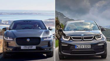 Jaguar I-Pace/BMW i3