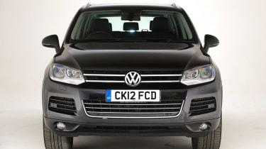 Used Volkswagen Touareg - full front