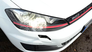 VW Golf GTI - headlamp washer