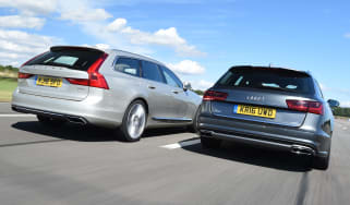 Volvo V90 vs Audi A6 Avant - header