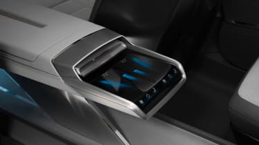 Audi h-tron concept - centre console