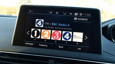 Peugeot 3008 - radio