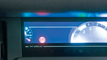 Renault Scenic dials