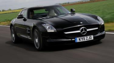 Mercedes SLS AMG front tracking