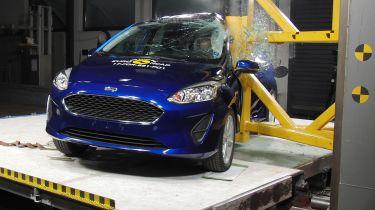 Ford Fiesta crash test 2017