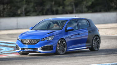 """<p class=""""p1"""">A mere concept it may be for the time being, but the 308 R HYbrid feels almost production ready.</p>"""
