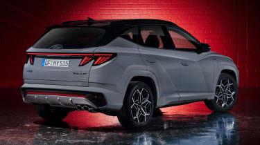 Hyundai Tuscon N Line - rear