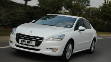 Peugeot 508 front tracking