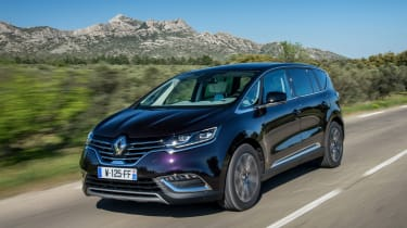 Renault Espace - front tracking