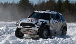 MINI Countryman ALL4 Dakar - front cornering 2