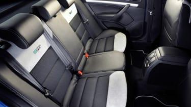 Skoda Octavia vRS rear seats