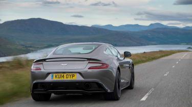 Aston Martin Vanquish 2014 rear