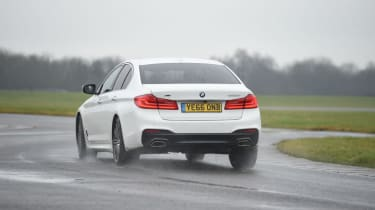 BMW 520d - rear cornering
