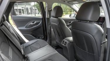 New Hyundai i30 rear seats