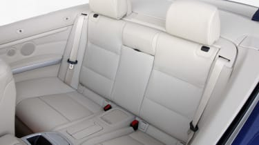 BMW 3 Series Convertible rear seats