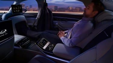 New Audi A8 - A8 L rear passenger