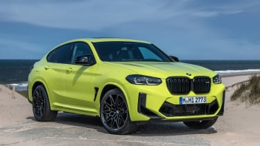 BMW X4 M - front static