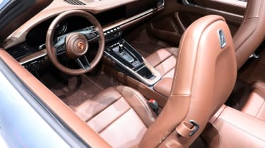 porsche 911 cabriolet interior