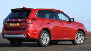 Mitsubishi Outlander PHEV - rear static