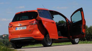 Ford B-MAX 1.6 TDCi Titanium doors open