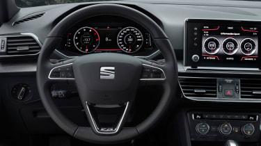 SEAT Tarraco - steering wheel