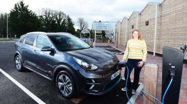 Kia e-Niro long termer - first report charging
